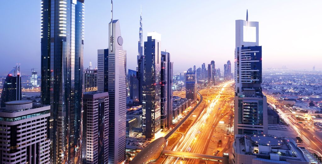 Aux portes de Dubai!