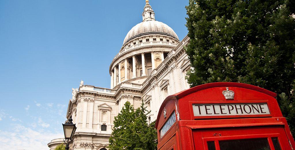 Pour visiter la capitale anglaise...