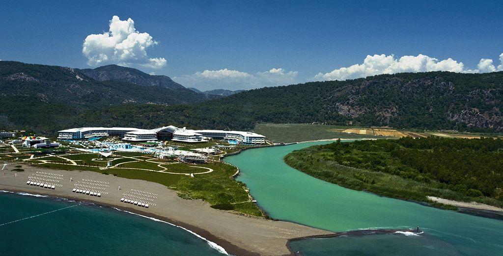Ce magnifique complexe vous accueille pour des vacances radieuses