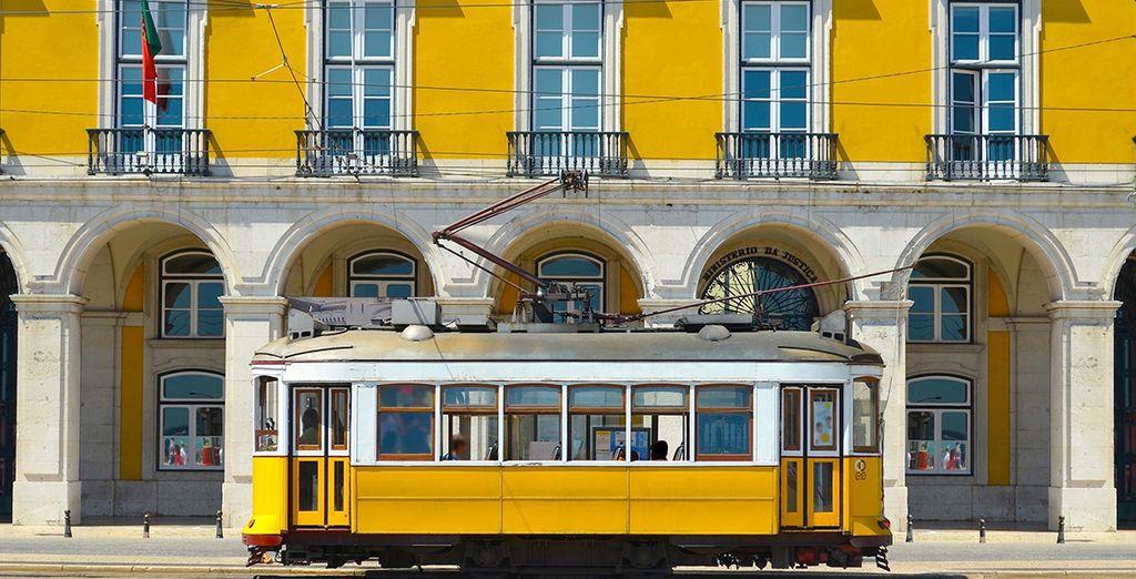 ... et traditionnelle avec notamment ses célèbres tramways jaunes,