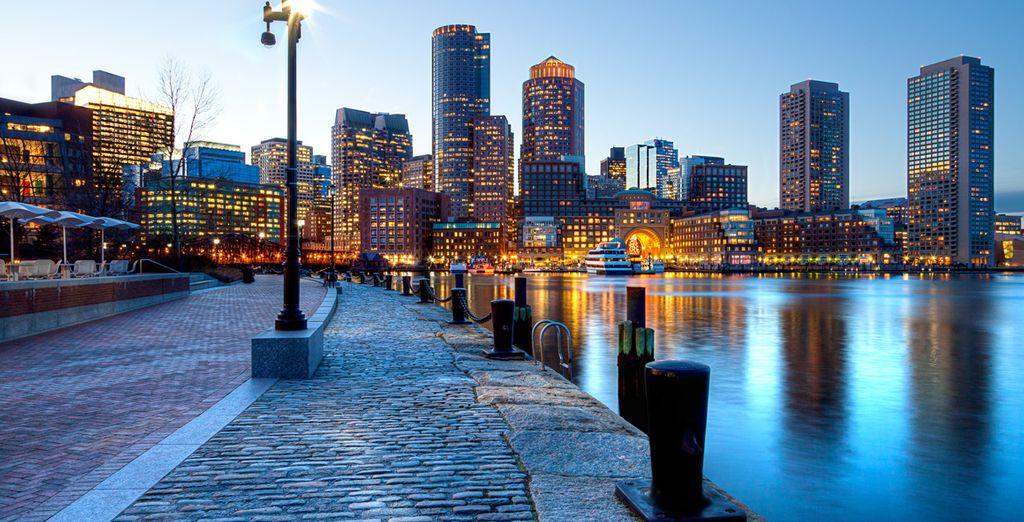 Votre voyage vers l'Est commence à Boston, entre sa modernité
