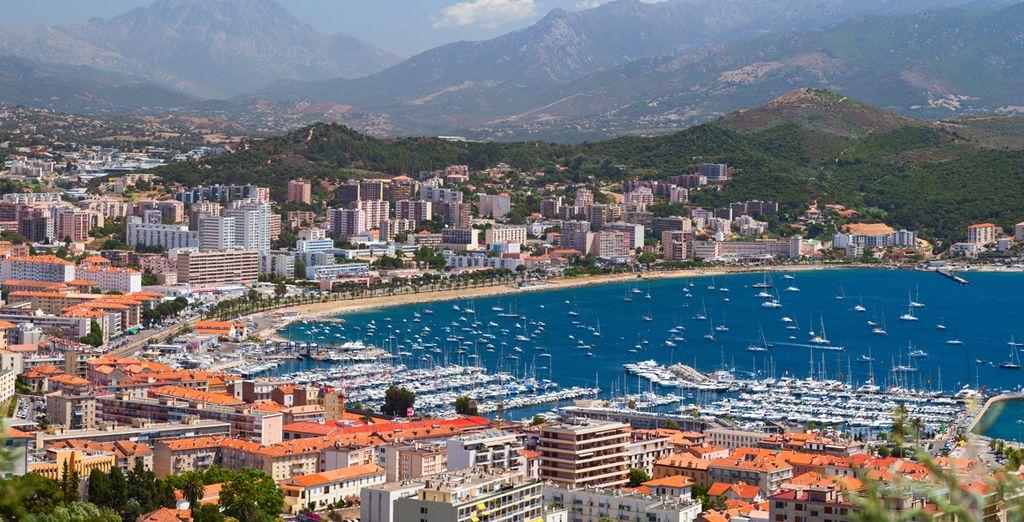 Ou bien encore en Corse !
