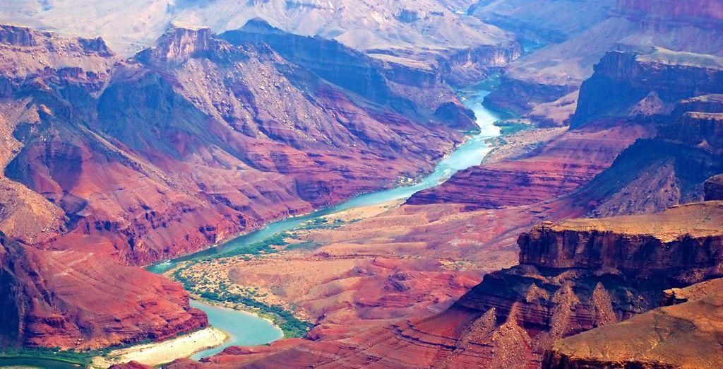 Vous traverserez la majestueuse rivière Colorado