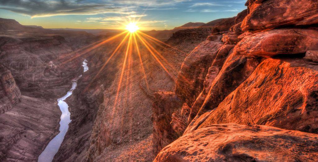Vous vous émerveillerez devant la beauté du Grand Canyon