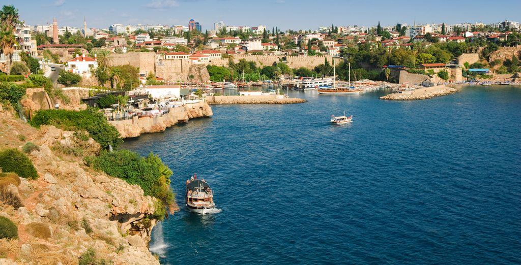 À environ 75 kilomètres d'Antalya - Hôtel Otium Eco Club 5* & Circuit Trésors d'Anatolie Side