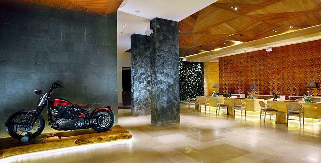 Un hôtel superbe à deux pas de la ville de Seminyak