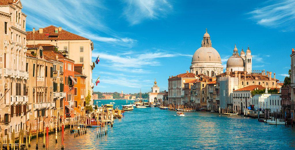 Paysages observés lors d'une croisière à Venise