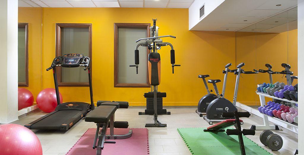 La salle de sport vous attend pour un instant sportif...