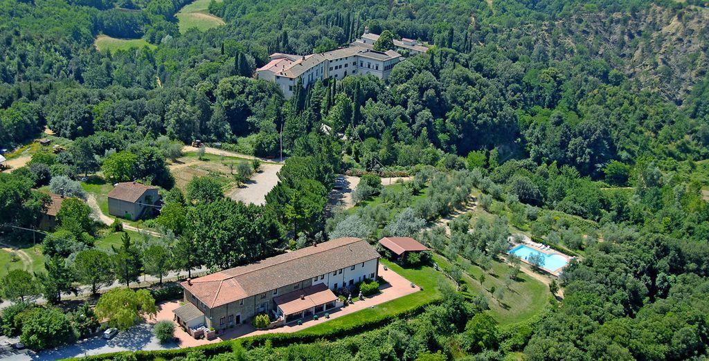 À l'Antica Villa Poggitazzi