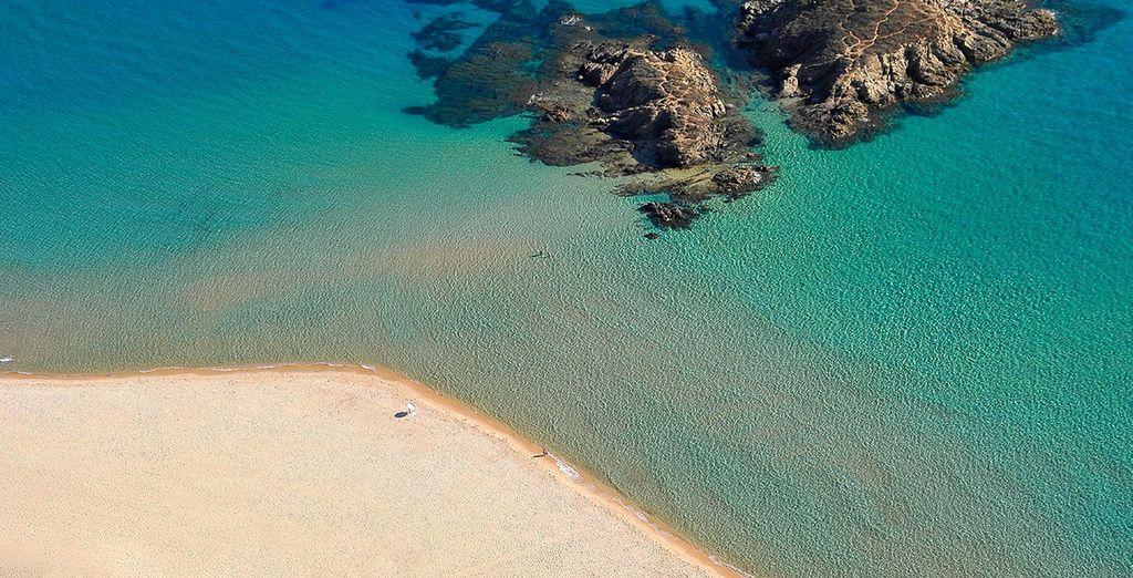La Sardaigne vous réserve de nombreuses surprises, en commençant par des plages idylliques...