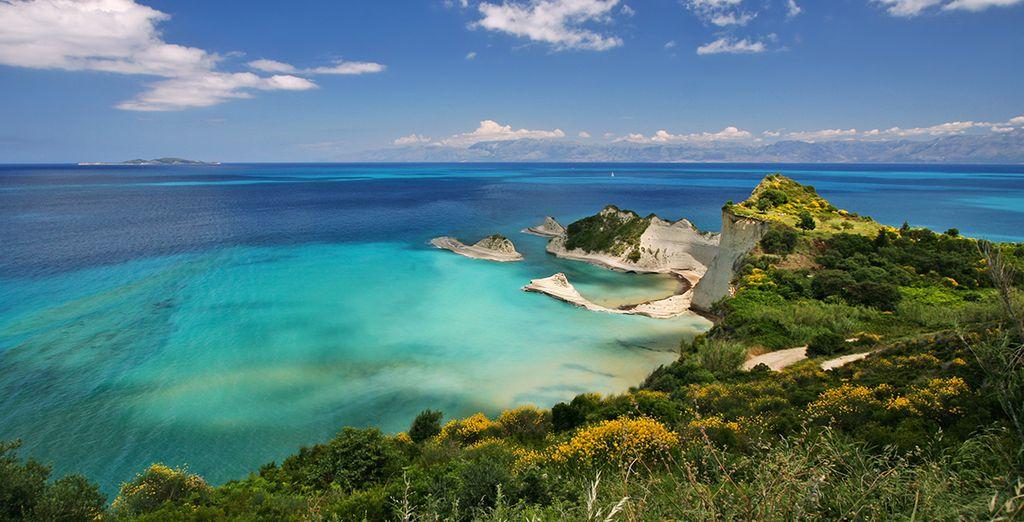 Vous reviendrez totalement charmé par l'île de Corfou