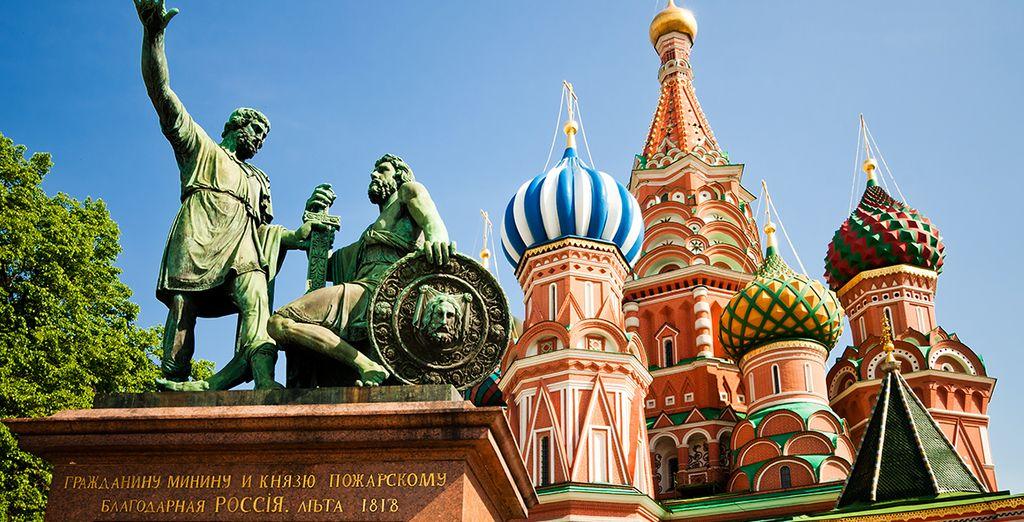Où du Kremlin à la Place Rouge