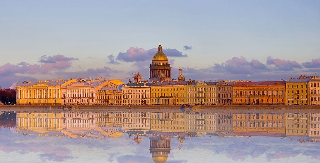 L'ancienne capitale des Tsars vous plongera dans une atmosphère romantique