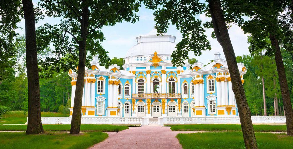 Alors que dans les environs de Saint-Pétersbourg