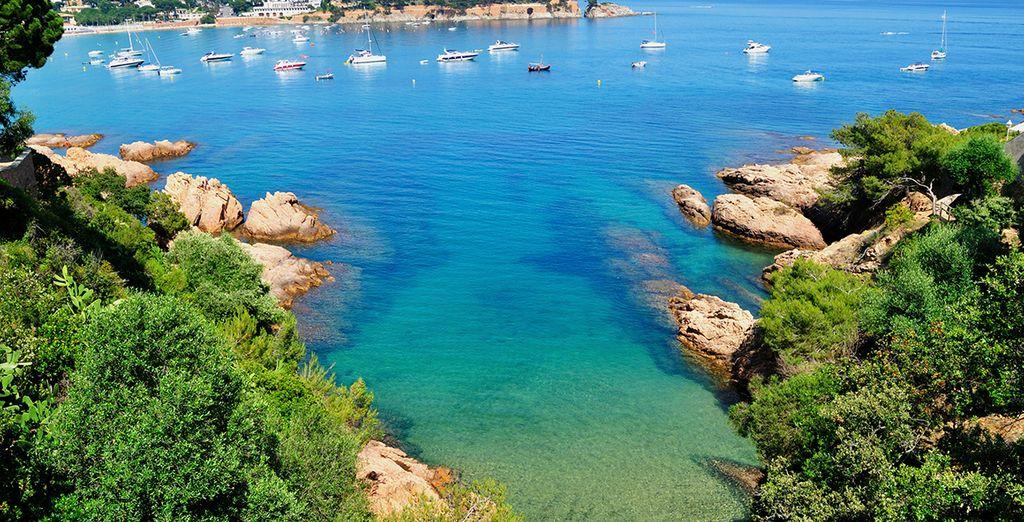 Les eaux turquoise de la Méditerranée vous font rêver ? - Hôtel Colón Thalasso Termal 4* Caldes d'Estrac