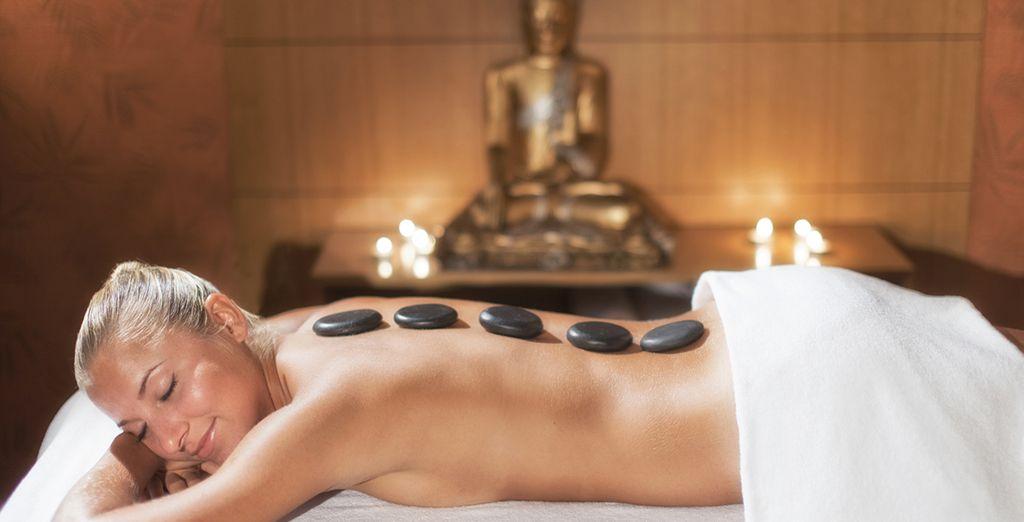 & laissez-vous tenter par un massage au Spa...