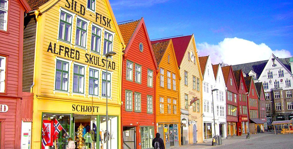 En Norvège à Bergen...
