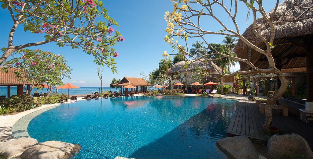 À l'hôtel Sudamala Suites & Villas Senggigi 5*