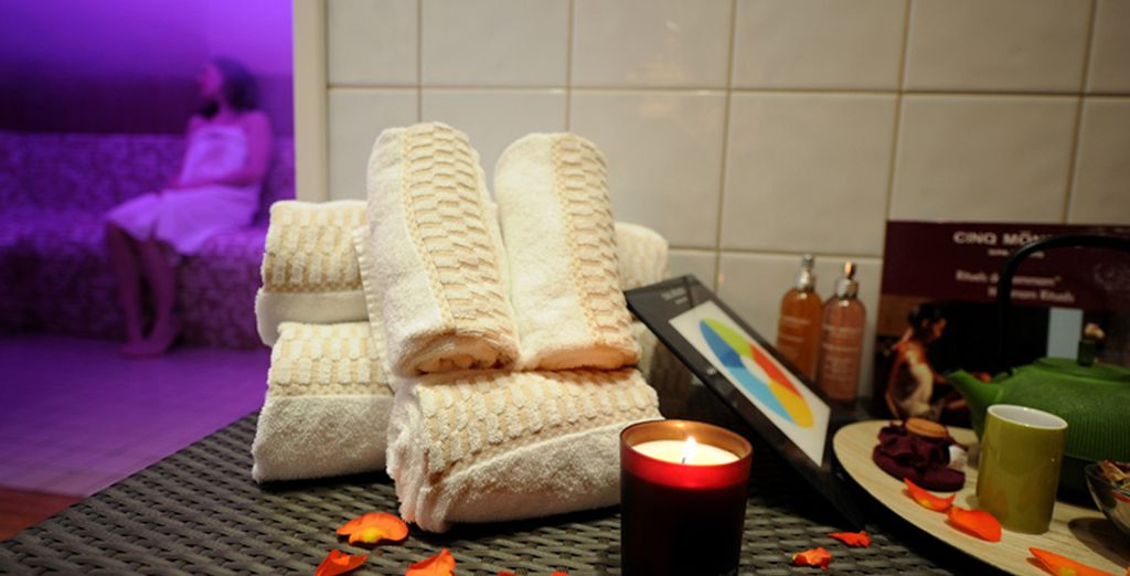 Ou une pause 100% relaxation au Spa