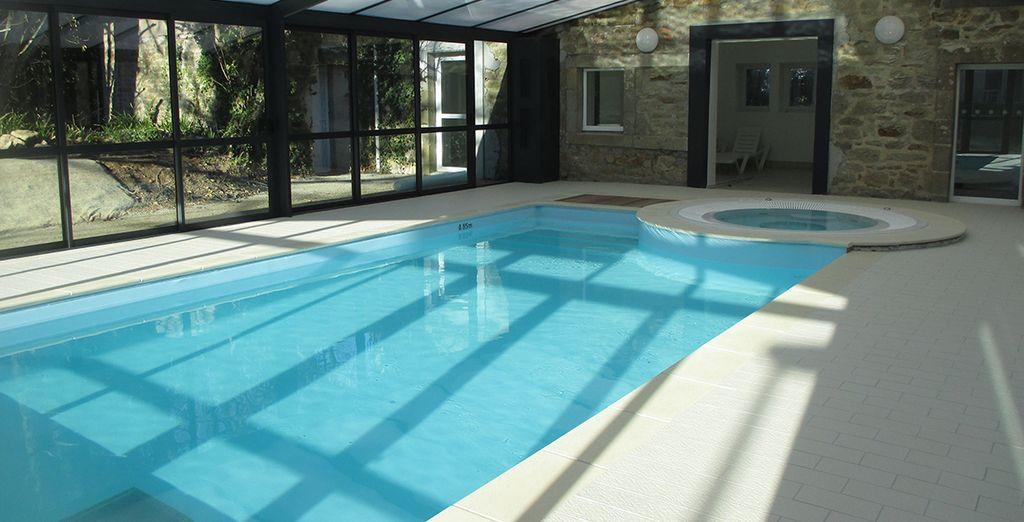Et de la piscine intérieure pour vous délasser