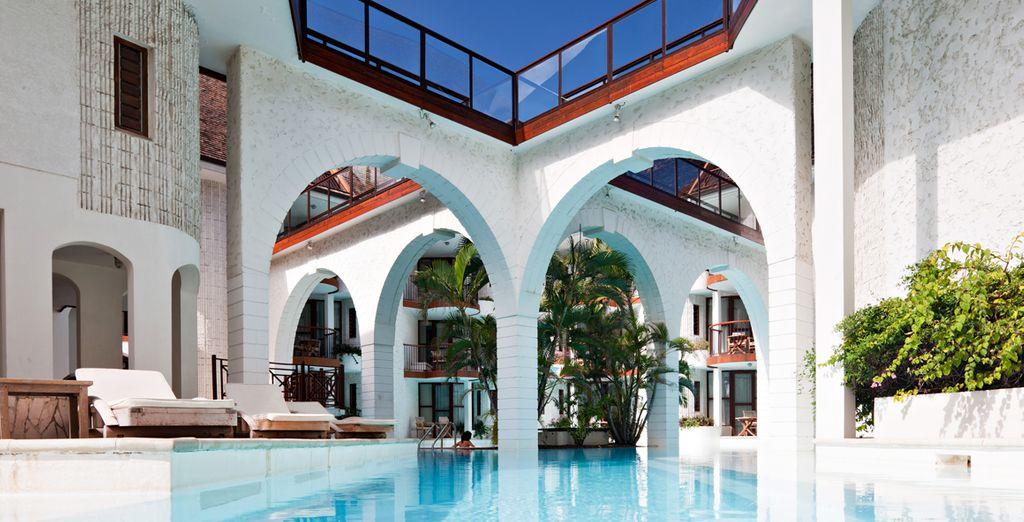 L'un des plus beaux hôtels de l'île