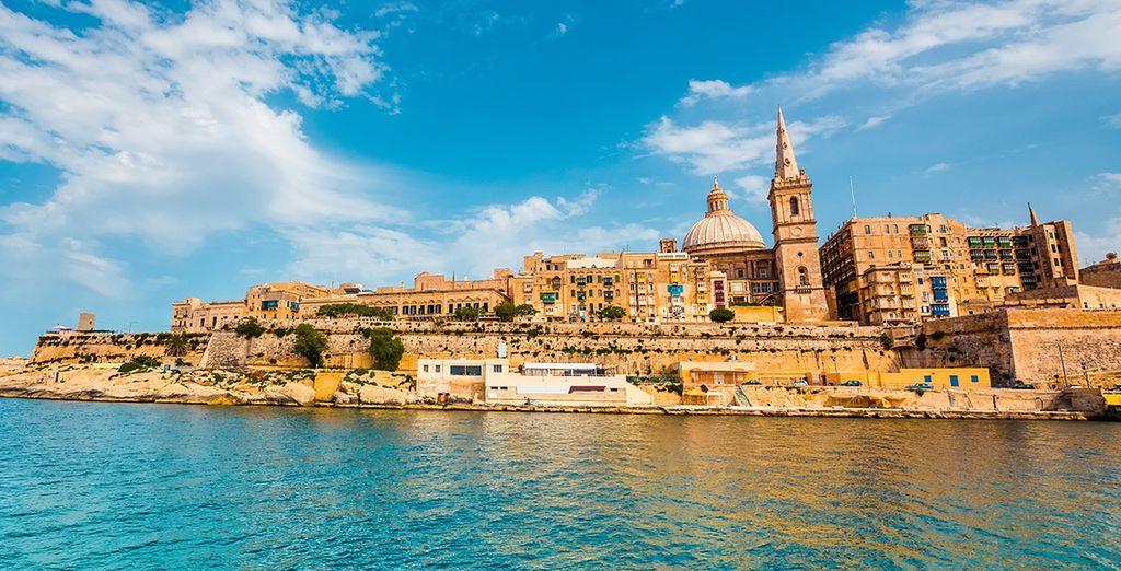 Ne manquez pas de partir à la découverte de la sublime île de Malte