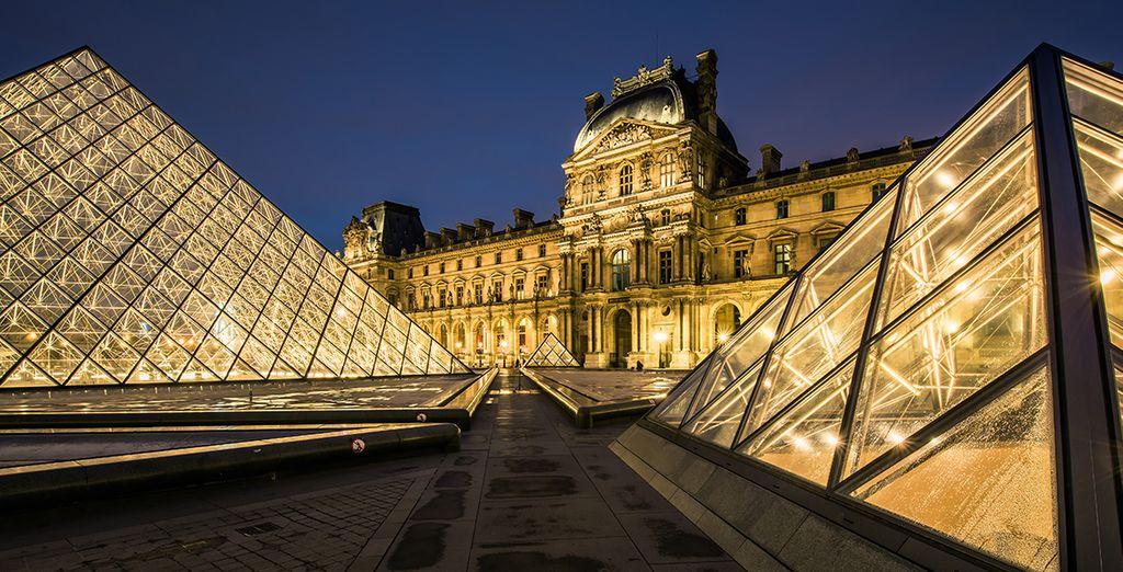 Et découvrez les richesses de la capitale : du Louvre...