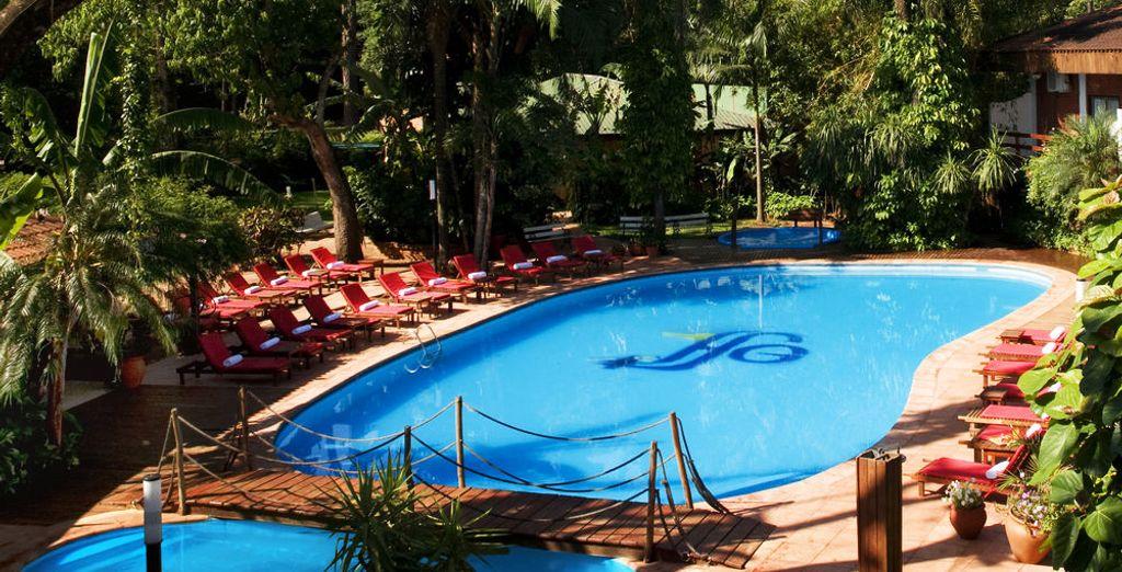 Hôtel de luxe en plein cœur de l'Argentine