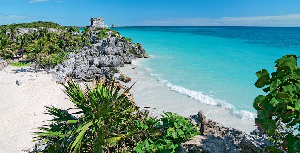 Le long de la Riviera Maya...