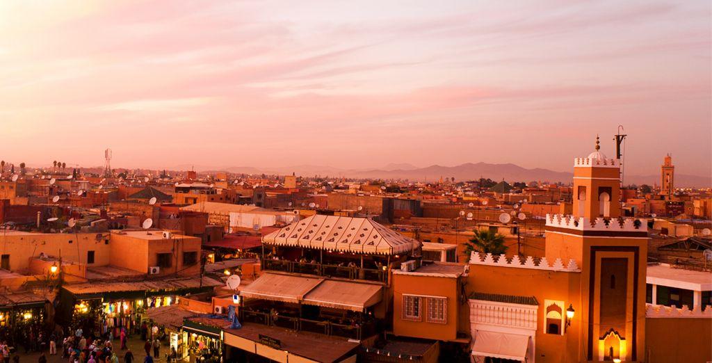 La douceur de vivre de Marrakech vous séduira à coup sûr...