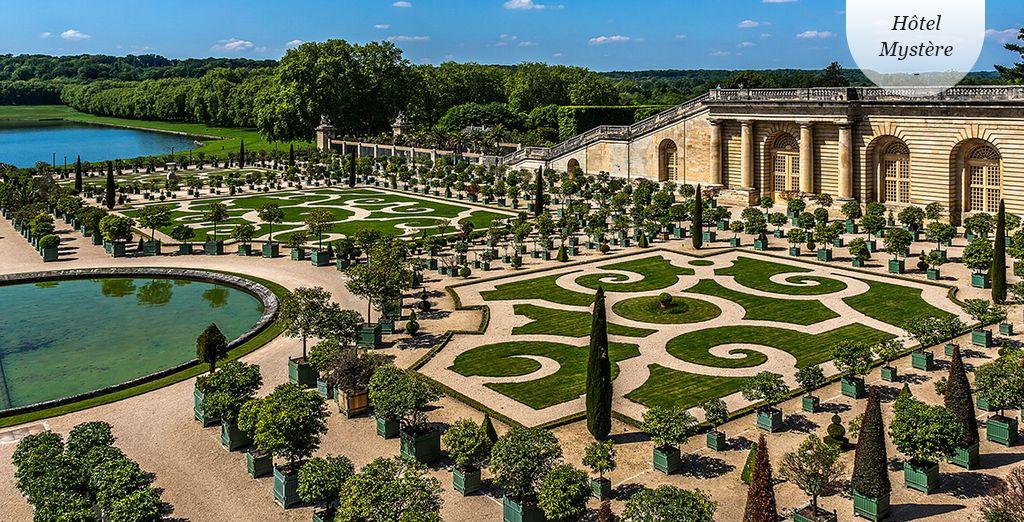 Bienvenue à Versailles !
