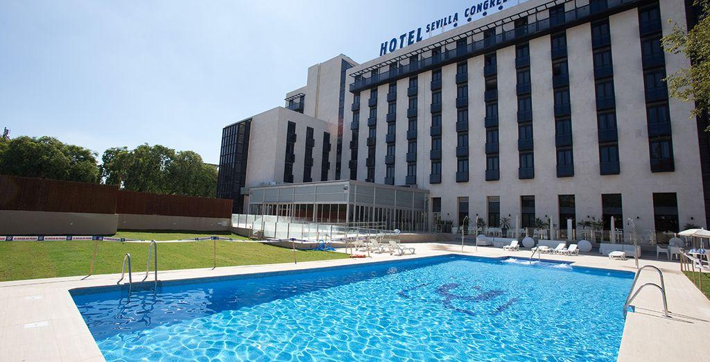 Depuis votre hôtel MA Sevilla Congresos 4*