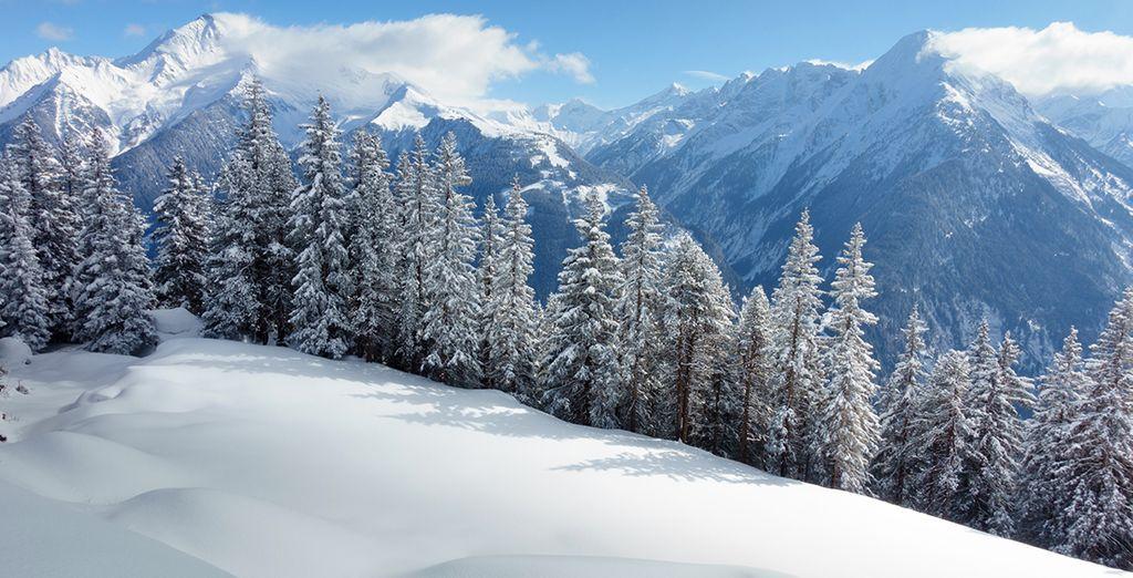 Direction la nature splendide du Tyrol autrichien