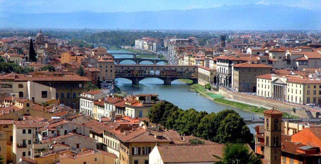 Avant de partir arpenter les rues de Florence. Photographiez vos souvenirs.
