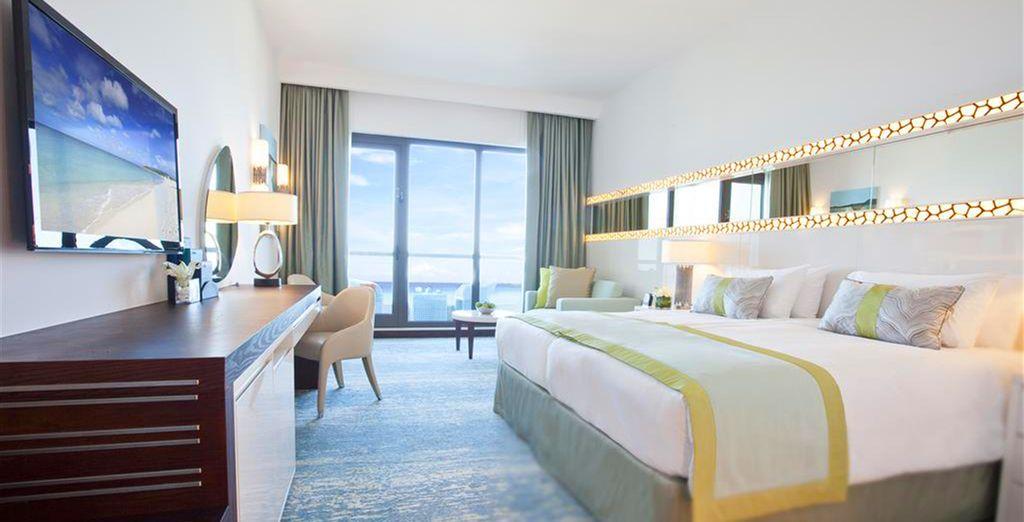 A Dubai, posez vos valises en chambre Sea View et admirez le spectacle