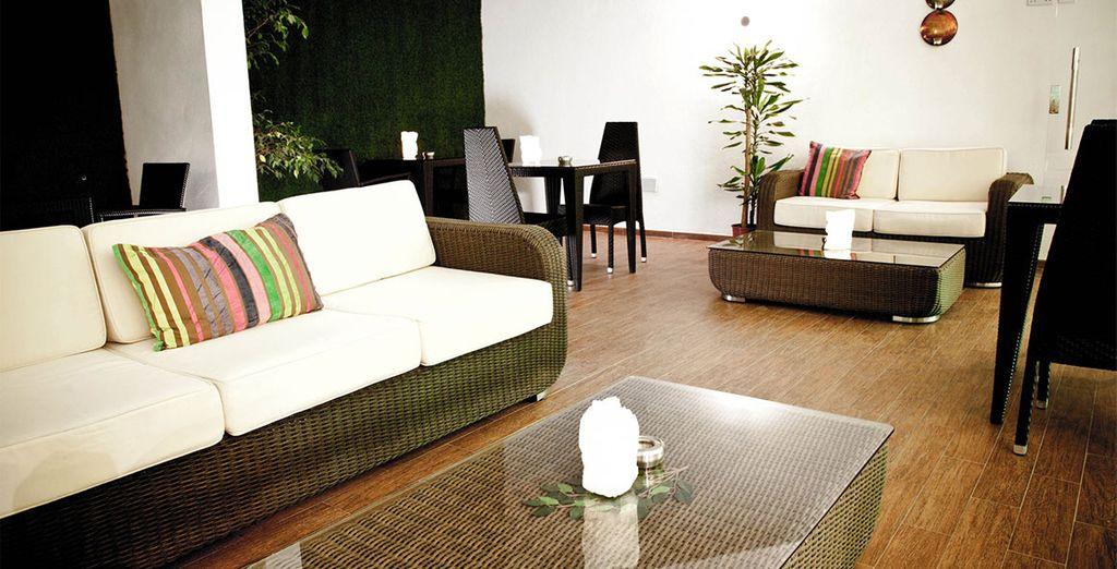 Confortablement installé au Rocca Nettuno Suites
