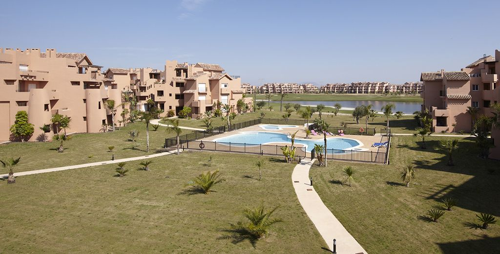 Bienvenue au sein du complexe Mar Menor Golf & Resort