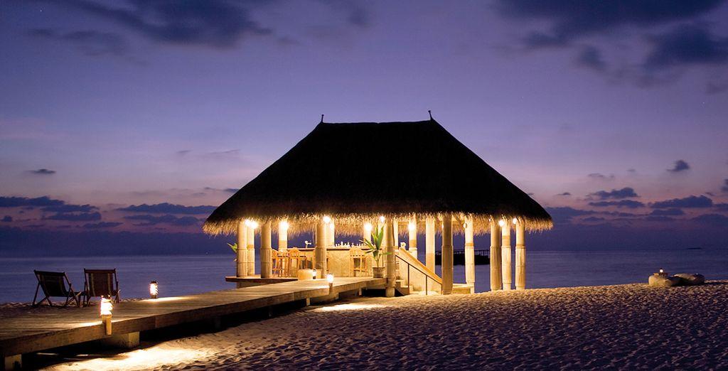 Et offrez-vous un dîner au clair de lune pour terminer ce séjour magique...