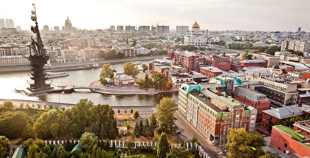 Votre voyage débute à Moscou