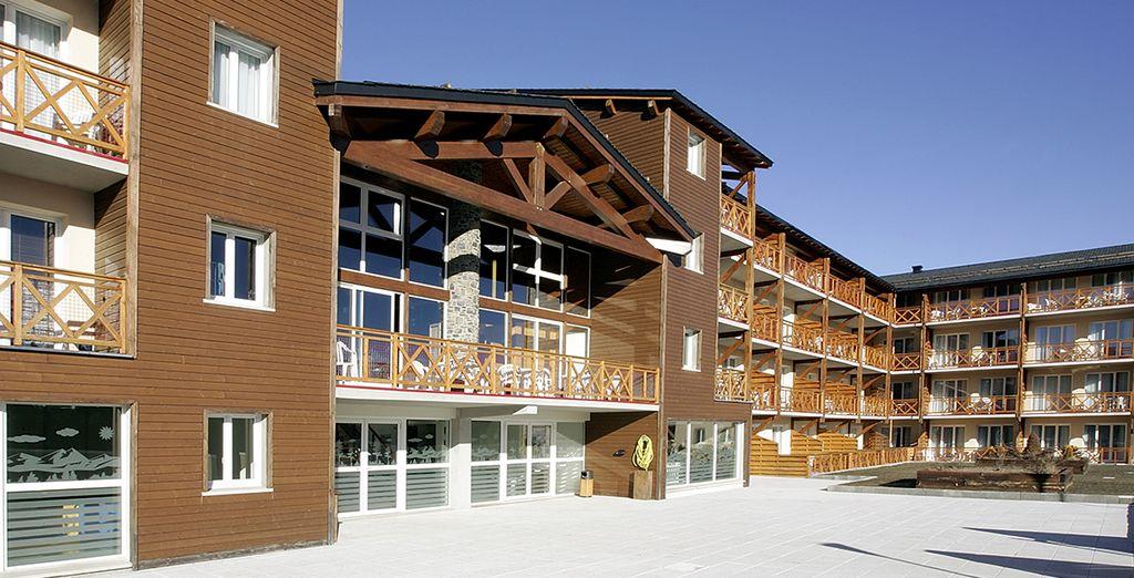 Une résidence tout confort vous ouvre ses portes... - Appart Vacances Pyrénées 2000 Bolquère
