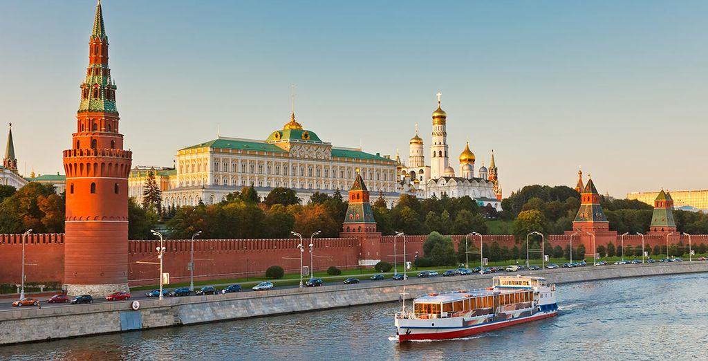 Pour une croisière sur la Volga