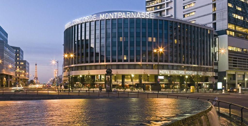 Bienvenue au Concorde Montparnasse - Hôtel Concorde Montparnasse 4* Paris