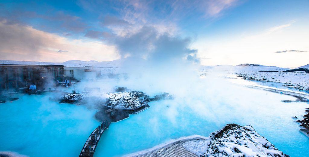 Appréciez la chaleur terrestre au coeur du Blue Lagoon