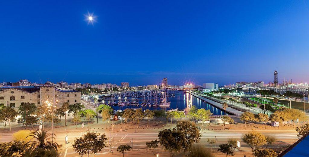 Barcelone est à vos pieds, jusqu'au bout de la nuit !
