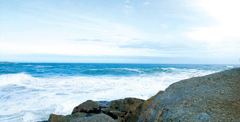 Grâce aux bienfaits de l'océan à 400 mètres seulement !