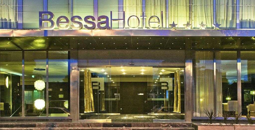 Direction le Bessa Hôtel dans le quartier de Boa Vista - BessaHotel Boavista 4* Porto