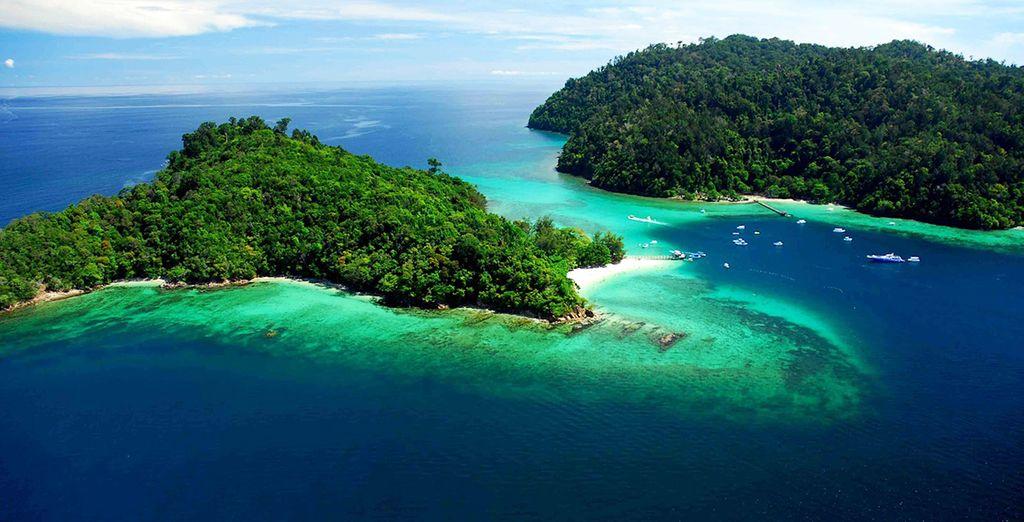 L'île de Bornéo, idéal pour un voyage au coeur de la nature