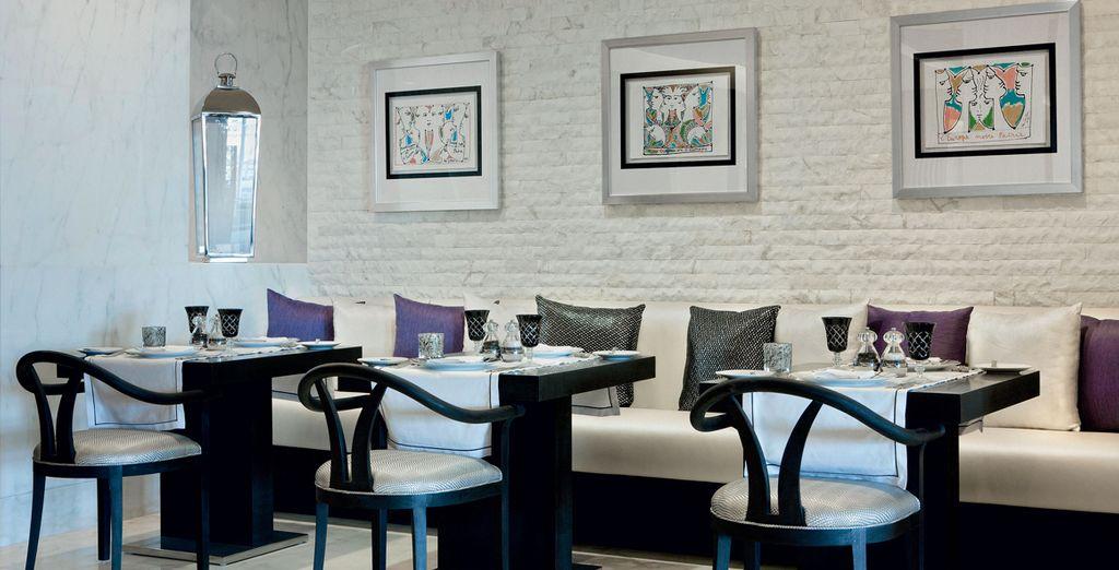Ravivez vos papilles au restaurant de l'hôtel