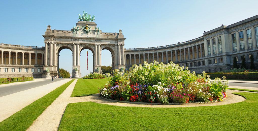 Photographie des Arcades Cinquantenaire à Bruxelles
