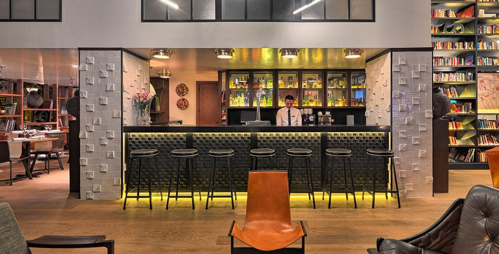 De retour à l'hôtel, prenez le temps autour d'un verre au Lobby bar.